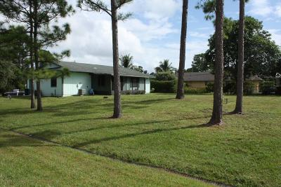 Port Saint Lucie Single Family Home For Sale: 972 SW Globe Avenue