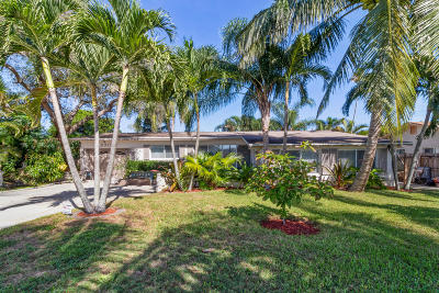 Lake Worth Single Family Home For Sale: 3315 Hurricane Drive