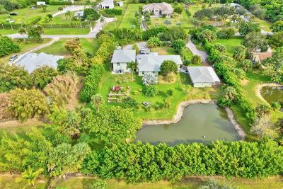 Acreage & Unrec Jupiter Farms, Acreage And Unrec Jupiter Farms, Jupiter Farms, Jupiter Farms Development, Jupiter Farms., Jupiter Farms... Corner Very Very High And Dry... Fenced Corner Lot One Property Single Family Home For Sale: 15305 92nd Way