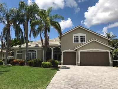 Boynton Beach Single Family Home For Sale: 6701 Conch Court