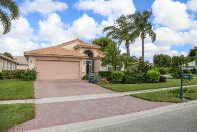 Boca Raton Single Family Home For Sale: 8721 Chunnel Terrace