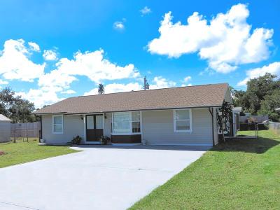 Vero Beach Single Family Home Contingent: 2341 2nd Court SE