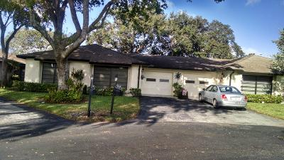 Boynton Beach Condo For Sale: 4668 Robinwood Circle #A