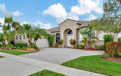 West Palm Beach Single Family Home For Sale: 9539 Lantern Bay Circle