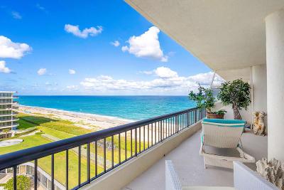 Palm Beach Condo For Sale: 2660 S Ocean Boulevard #702s