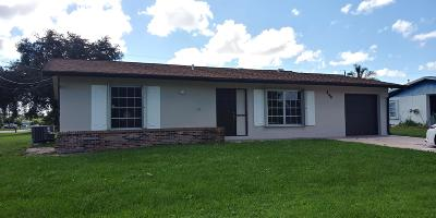 Port Saint Lucie Single Family Home For Sale: 308 NW Placid Avenue