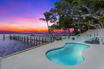 Jensen Beach Single Family Home For Sale: 916 NE Banyan Tree Drive