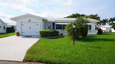 Boynton Beach Single Family Home For Sale: 1802 SW 17th Street