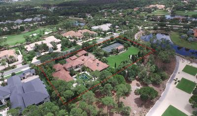 Palm Beach Single Family Home For Sale: 12203 Tillinghast Circle