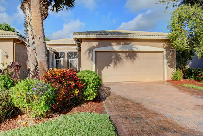 Boynton Beach Single Family Home For Sale: 5883 Grand Harbour Circle