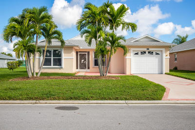 Fort Pierce Single Family Home For Sale: 6019 Adonidia Place