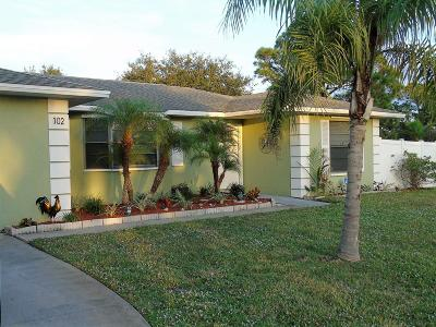 Sebastian Single Family Home For Sale: 102 Cardinal Drive