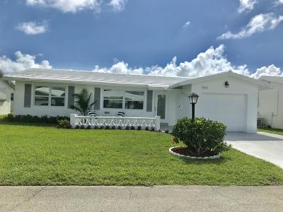 Boynton Beach Single Family Home For Sale: 1914 SW 12th Avenue