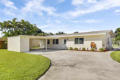 Palm Beach Gardens Single Family Home For Sale: 631 Riverside Drive