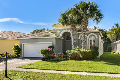 Boynton Beach Single Family Home For Sale: 6748 Southport Drive