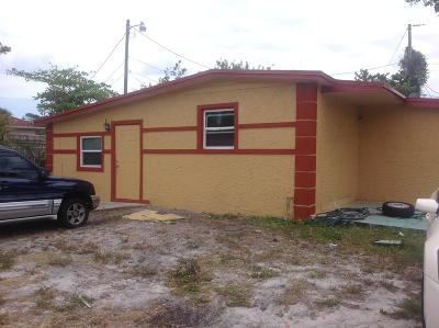 Boynton Beach Single Family Home Contingent: 350 NE 28th Court