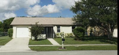 Royal Palm Beach Single Family Home For Sale: 1145 Harmony Way