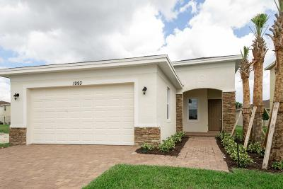 Port Saint Lucie Single Family Home For Sale: 1993 NW Cataluna Circle