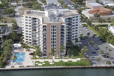 West Palm Beach Condo For Sale: 2800 Flagler Drive #606