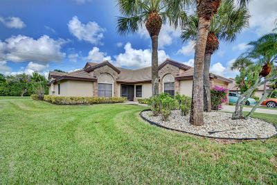 boynton beach Single Family Home For Sale: 7411 Le Chalet Boulevard