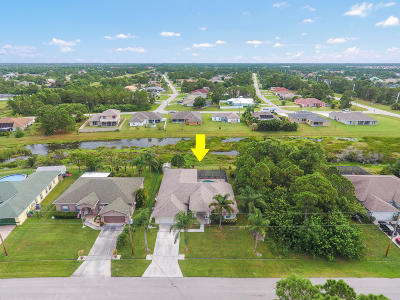 Port Saint Lucie Single Family Home Contingent: 6147 NW East Deville Circle