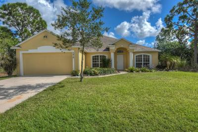 Port Saint Lucie Single Family Home For Sale: 5418 NW Bolin Street