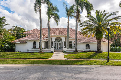 Boca Raton Single Family Home For Sale: 7080 Lions Head Lane