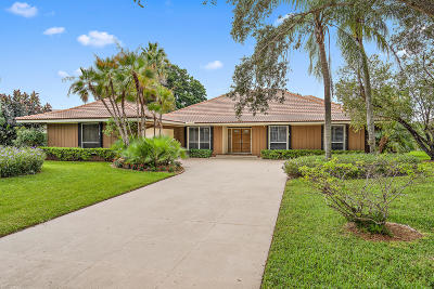 Palm Beach Gardens Single Family Home For Sale: 9 Cambria Road