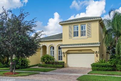 Port Saint Lucie Single Family Home For Sale: 11295 SW Vanderbilt Circle