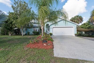 Vero Beach Single Family Home For Sale: 8035 104th Court