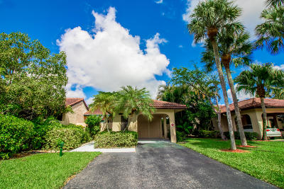 Boca Raton Single Family Home For Sale: 9304 Vista Del Lago #B