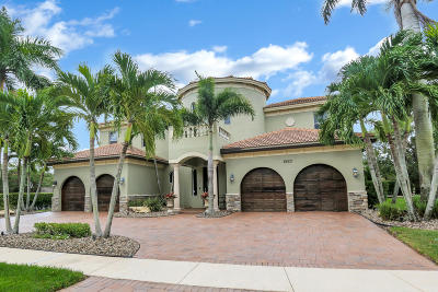 Lake Worth Single Family Home For Sale: 8423 Club Estates Way