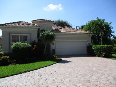 Delray Beach Single Family Home For Sale: 7215 Demedici Circle