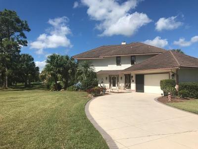 Fort Pierce Single Family Home For Sale: 9604 Knollwood Lane