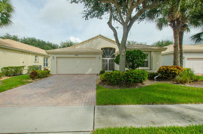Boynton Beach Single Family Home For Sale: 12748 Coral Lakes Drive