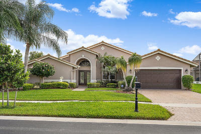 Boynton Beach Single Family Home Contingent: 7069 Falls Road E
