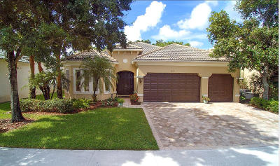 Wellington FL Single Family Home For Sale: $424,900