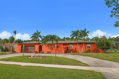 Lake Worth Single Family Home For Sale: 7203 Oakmont Drive