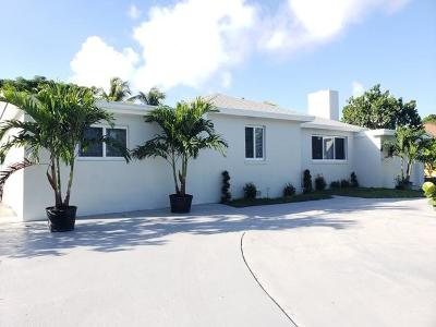 West Palm Beach Single Family Home For Sale: 318 Gregory Road