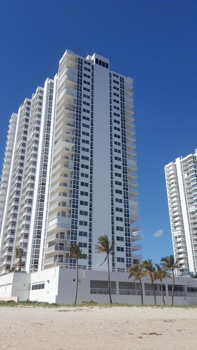 Pompano Beach Rental For Rent: 1370 S Ocean Blvd #1506