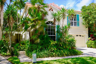 Palm Beach Gardens Single Family Home Contingent: 18 Via Aurelia