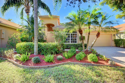 Boynton Beach Single Family Home For Sale: 10338 Copper Lake Drive