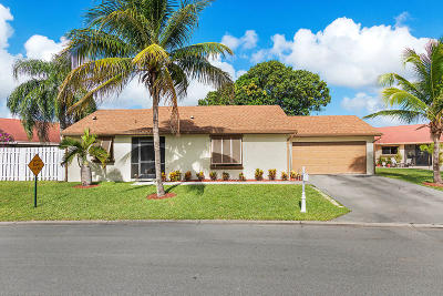 Boca Raton Single Family Home For Sale: 21678 Rainberry Park Circle