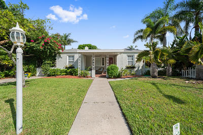 West Palm Beach Single Family Home For Sale: 219 33rd Street