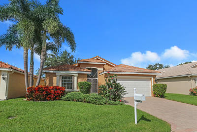 Delray Beach Single Family Home For Sale: 13829 Via Nadina