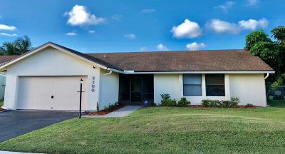 Boca Raton Single Family Home For Sale: 9200 Southampton Place