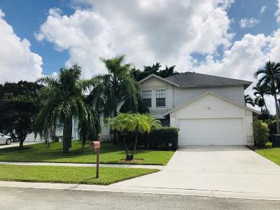 Lake Worth Single Family Home For Sale: 9840 Cross Pine Court