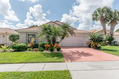 Boynton Beach Single Family Home For Sale: 6412 Tiara Drive
