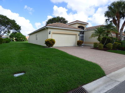 Delray Beach FL Single Family Home For Sale: $345,000
