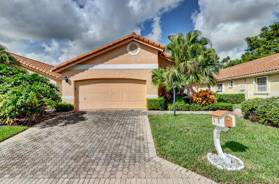 Delray Beach Single Family Home For Sale: 5381 Casa Real Drive